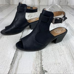 SO black ankle boot